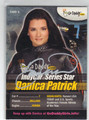 DANICA PATRICK AUTOGRAPHED NASCAR CARD #12313C