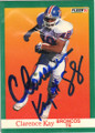Clarence Kay Autographed Football Card 1260