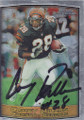 Corey Dillon Autographed Football Card 1265
