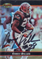 Corey Dillon Autographed Football Card 1266