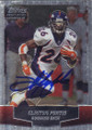 Clinton Portis Autographed Football Card 1263