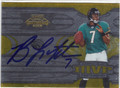 BYRON LEFTWICH JACKSONVILLE JAGUARS AUTOGRAPHED & NUMBERED FOOTBALL CARD #12513N