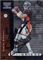 BRIAN GRIESE DENVER BRONCOS AUTOGRAPHED FOOTBALL CARD #12813J