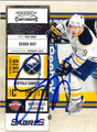 DEREK ROY BUFFALO SABRES AUTOGRAPHED HOCKEY CARD #13113B