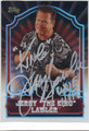"JERRY ""THE KING"" LAWLER AUTOGRAPHED WRESTLING CARD #13013H"