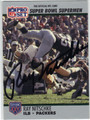 RAY NITSCHKE GREEN BAY PACKERS AUTOGRAPHED FOOTBALL CARD #13113E