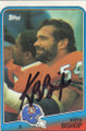 Keith Bishop Autographed Football Card 1448