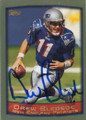 Drew Bledsoe Autographed Football Card 1315