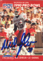 Mike Johnson Autographed Football Card 1525