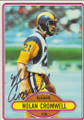 Nolan Cromwell Autographed Football Card 1535