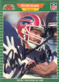 Pete Metzelaars Autographed Football Card 1548