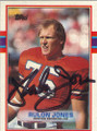 Rulon Jones Autographed Football Card 1606