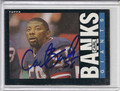 Carl Banks Autographed Football Card 1762
