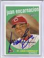 Juan Encarnacion Autographed Baseball Card 1785