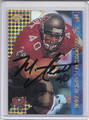 Mike Alstott Autographed Football Card 1862