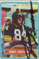 Randy Grossman Autographed Football Card 1562