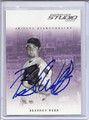 Brandon Webb Autographed Baseball Card 1818