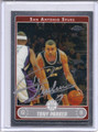 Tony Parker Autographed basketball Card 1974