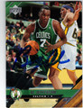 AL JEFFERSON BOSTON CELTICS AUTOGRAPHED ROOKIE BASKETBALL CARD #20113C