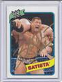 Batista Autographed Wrestling Card 2027