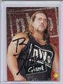 Big Show Autographed Wrestling Card 2031