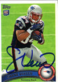 SHANE VEREEN AUTOGRAPHED ROOKIE FOOTBALL CARD #20312H