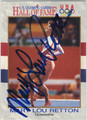 MARY LOU RETTON AUTOGRAPHED OLYMPIC GYMNASTICS CARD #20313A