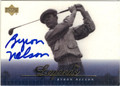 BYRON NELSON AUTOGRAPHED GOLF CARD #20213B