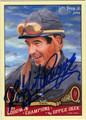 LAFFIT PINCAY JR AUTOGRAPHED HORSE RACING CARD #20612C