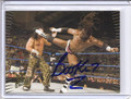 Booker T Autographed Wrestling Card 2033
