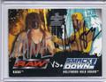 Kane & Hulk Hogan Dual Autographed Wrestling Card 2066