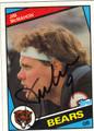 JIM McMAHON CHICAGO BEARS AUTOGRAPHED FOOTBALL CARD #20713C