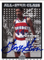GEORGE GERVIN AUTOGRAPHED BASKETBALL CARD #20812S