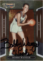 BOBBY WANZER AUTOGRAPHED BASKETBALL CARD #21012C