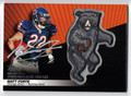MATT FORTE AUTOGRAPHED PIECE OF THE GAME FOOTBALL CARD #21011K