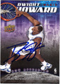 DWIGHT HOWARD ORLANDO MAGIC AUTOGRAPHED BASKETBALL CARD #21013i