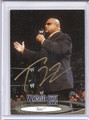 Tazz Autographed Wrestling Card 2116