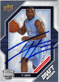 TY LAWSON AUTOGRAPHED ROOKIE BASKETBALL CARD #21212F
