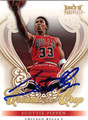 SCOTTIE PIPPEN AUTOGRAPHED BASKETBALL CARD #21312G