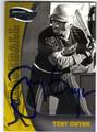 TONY GWYNN AUTOGRAPHED BASEBALL CARD #21513K
