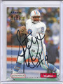 Steve McNair Houston Oilers Autographed Rookie Football Card 2162