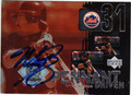 MIKE PIAZZA NEW YORK METS AUTOGRAPHED BASEBALL CARD #21713D