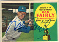 RON FAIRLY LOS ANGELES DODGERS AUTOGRAPHED VINTAGE BASEBALL CARD #21913D
