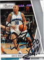 DAVID WEST AUTOGRAPHED BASKETBALL CARD #22212X