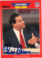 CHRIS BERMAN AUTOGRAPHED CARD #22313B
