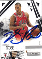 DERRICK ROSE CHICAGO BULLS AUTOGRAPHED BASKETBALL CARD #22313F