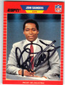 JOHN SAUNDERS AUTOGRAPHED CARD #22313H