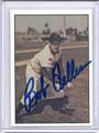 Bob Feller Autographed Baseball Card 2242