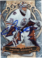 DWAYNE ROLOSON AUTOGRAPHED HOCKEY CARD #22512M
