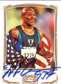 MAURICE GREENE AUTOGRAPHED OLYMPIC CARD #22512R